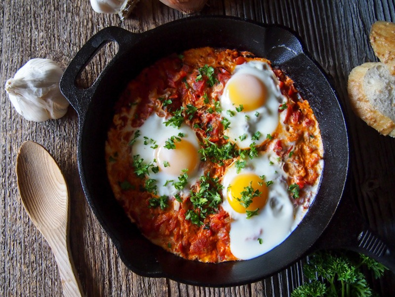cast iron eggs