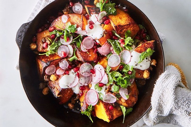 skillet-roasted-butternut-squash-with-spiced-chickpeas-BA-030617