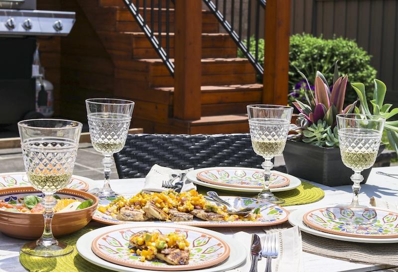 easy-outside-dinner al fresco