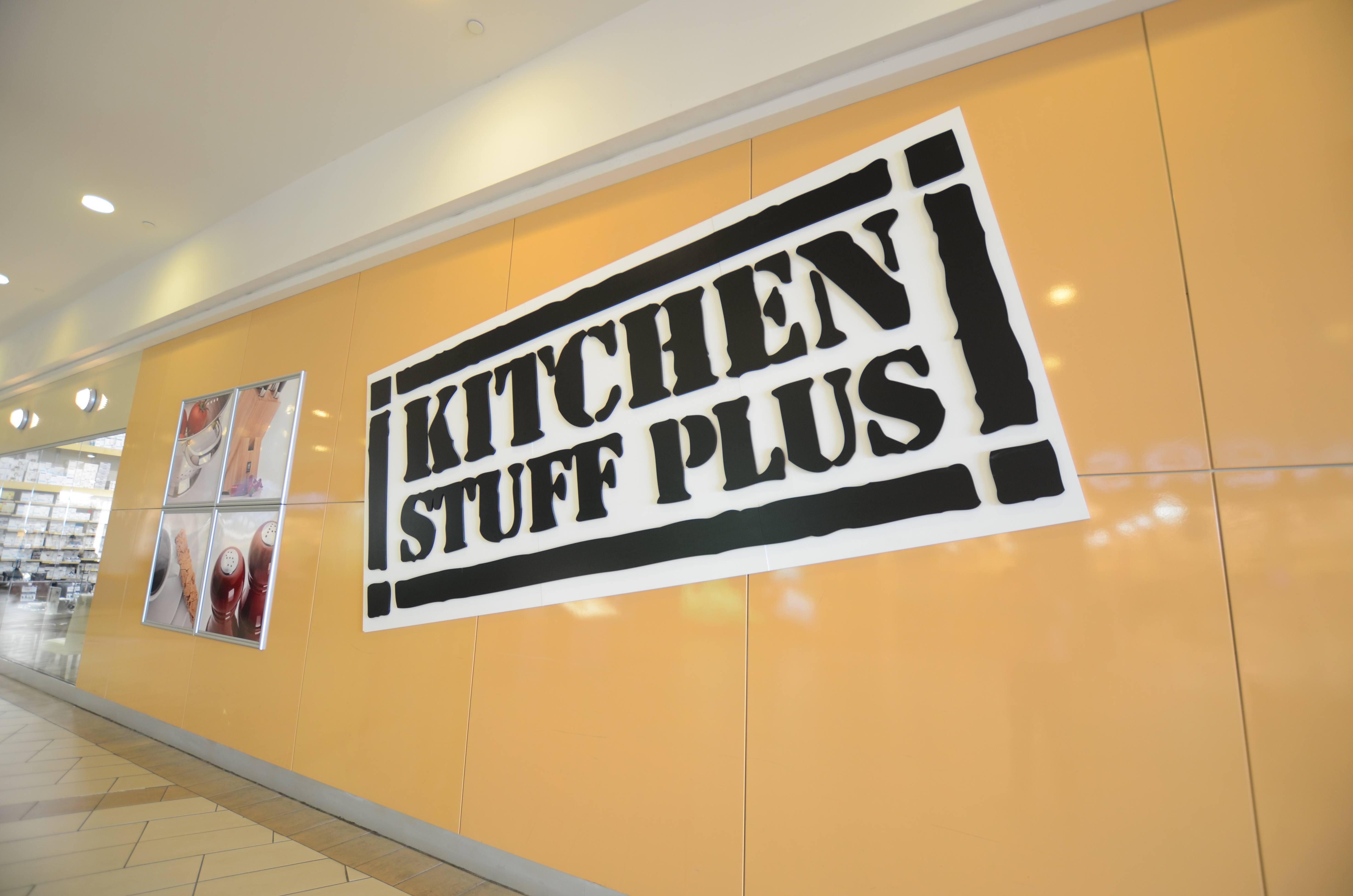 Kitchen Stuff Plus Store Sign canadian