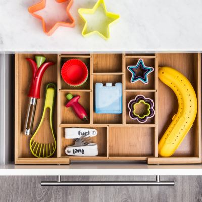 Desk Drawer Organization-back to school ready