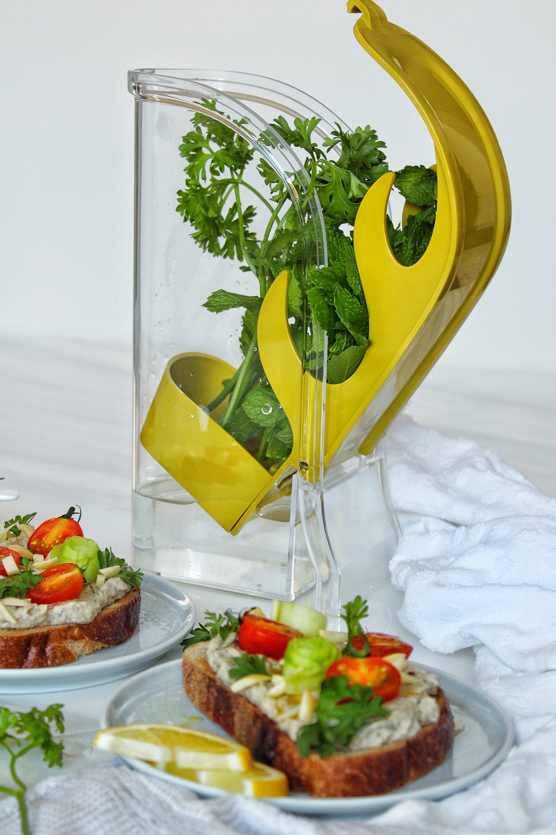 herb saver in kitchen