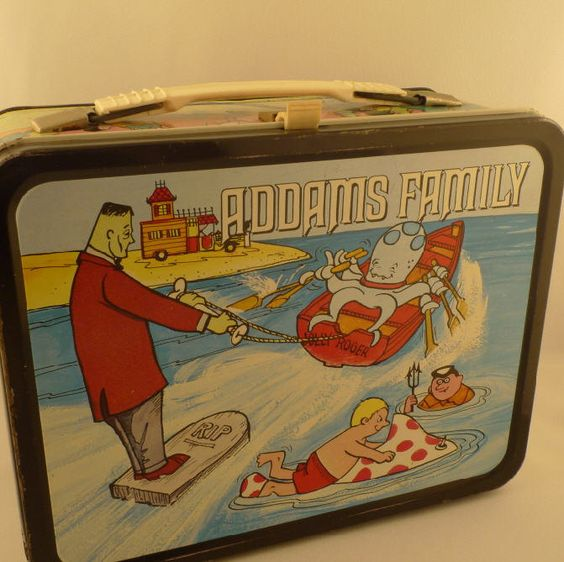 Adams Family Lunch Box