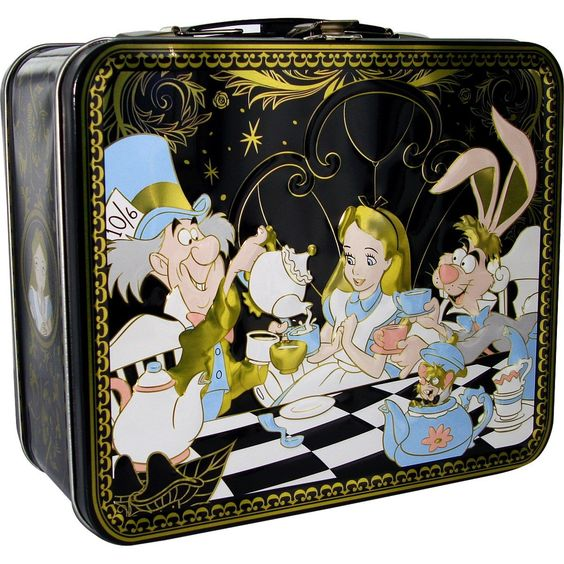 Alice in Wonderland Lunch Box