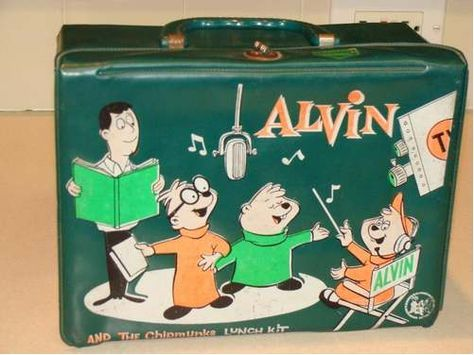 Alvin and the Chipmunks Lunch Box