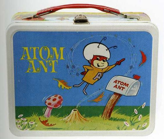 Atom Ant Lunch Box