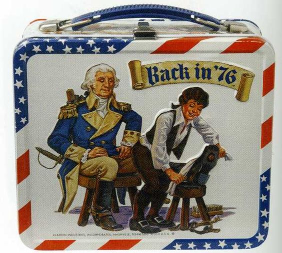 Back in '76 Lunch Box