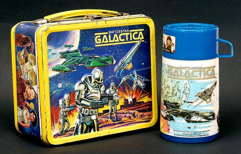 Battlestar Galactica Lunch Box