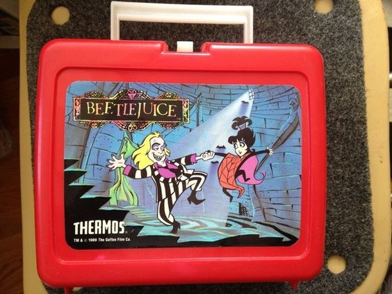 iconic Beetlejuice Lunch Box