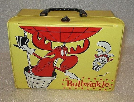 Bullwinkle Lunch Box