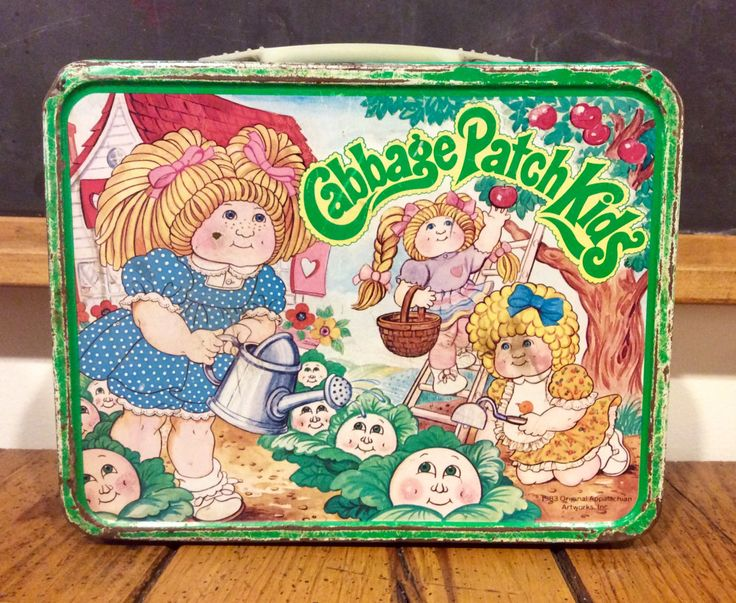 iconic Cabbage Patch Kids Lunch Box 2