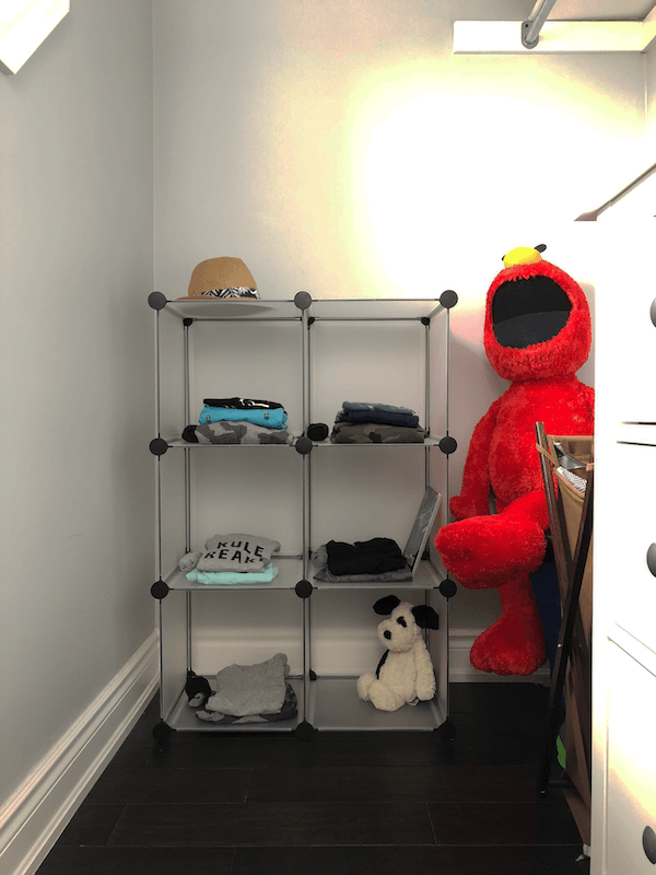 closet organizer for the weekday hustle
