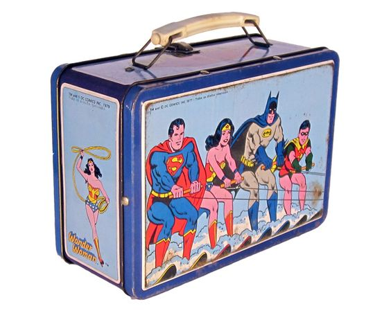 D.C. Comics Superheros Lunch Box