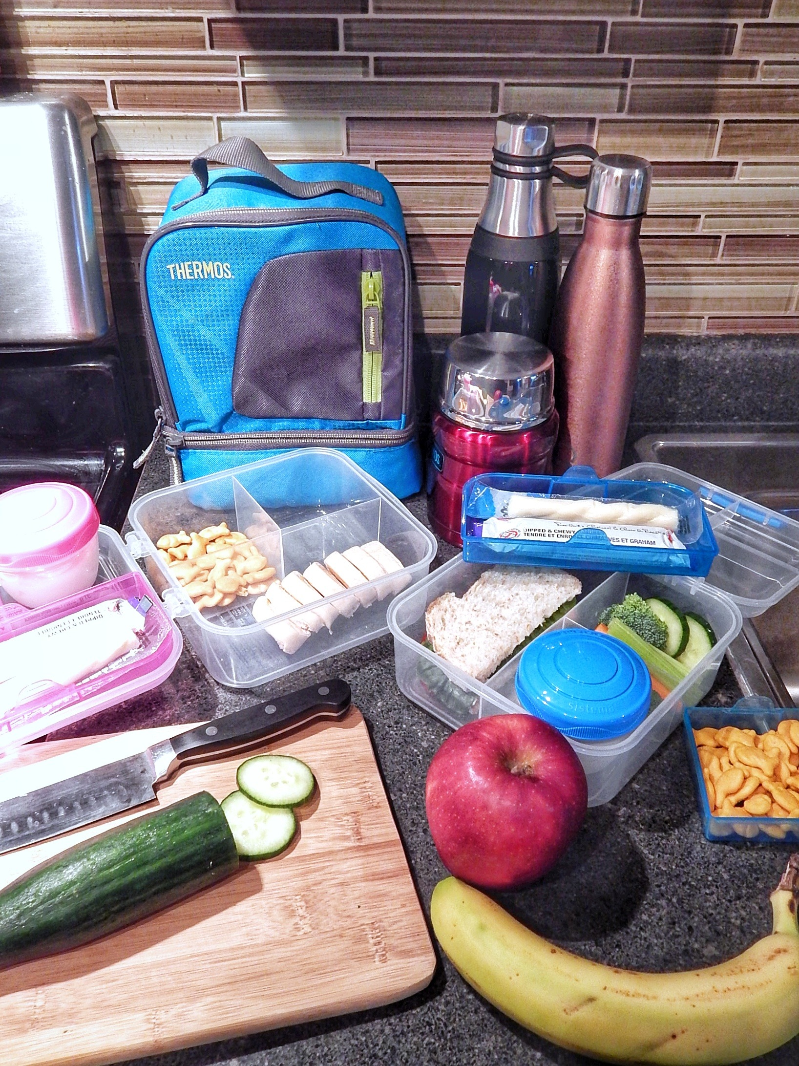 lunch essentials for school morning shuffle