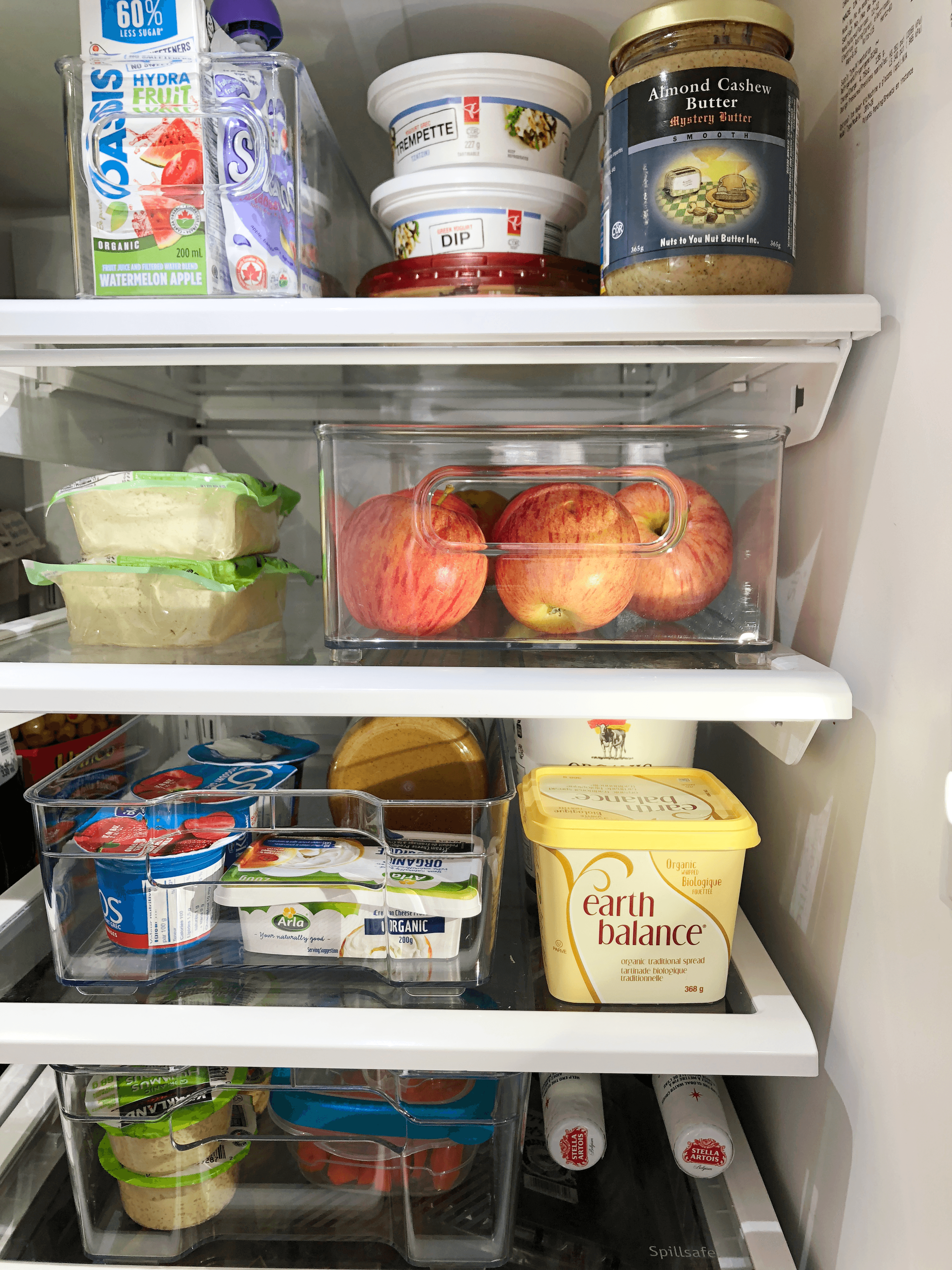 fridge organization for the weekday hustle