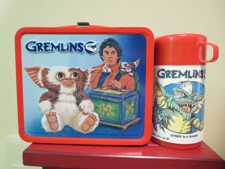 Gremlins Lunch Box and Thermos