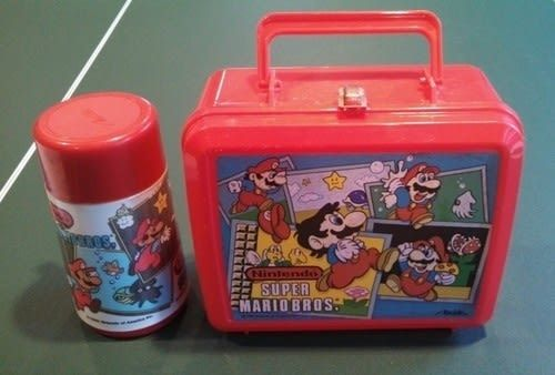 Mario Lunch Box