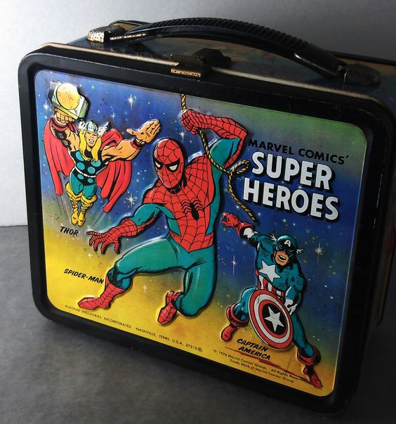 Marvel Comics Lunch Box