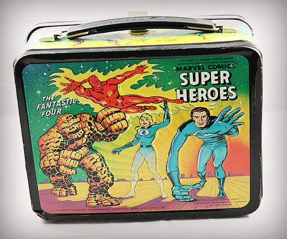 Marvel Comics Super Heroes Lunch Box