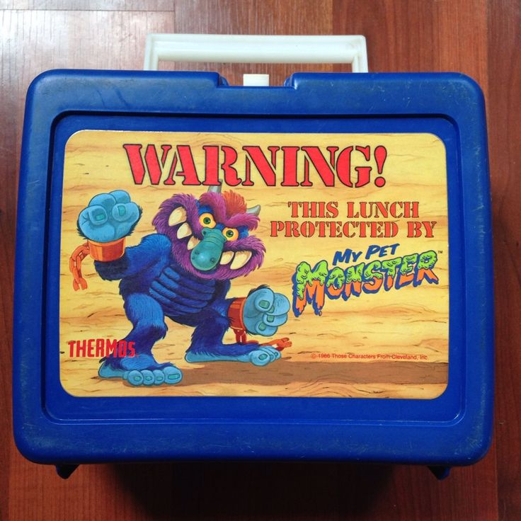 My Pet Monster Lunch Box