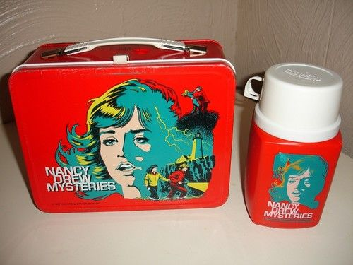 Nancy Drew Mysteries lunch box