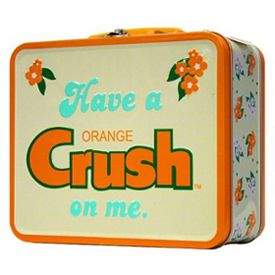 Orange Crush Lunch Box