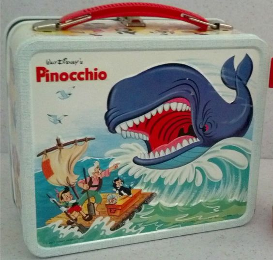 Pinocchio Lunch Box