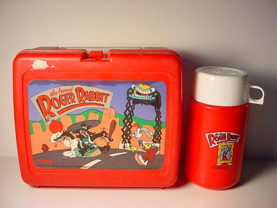 iconic Roger Rabbit Lunch Box