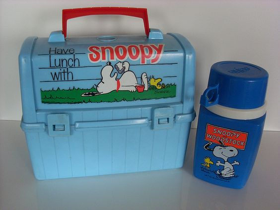 Snoopy Lunch Box and Thermos iconic