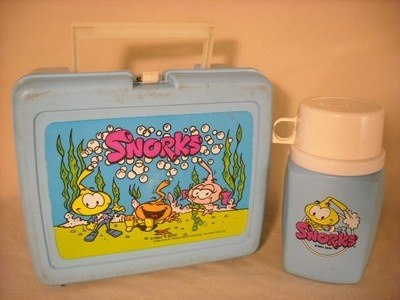 Snorks Lunch Box and Thermos