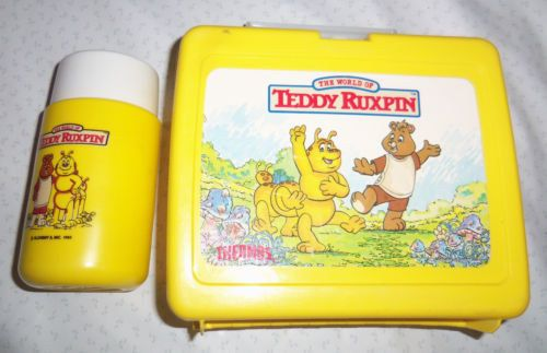 Teddy Ruxpin Lunch Box