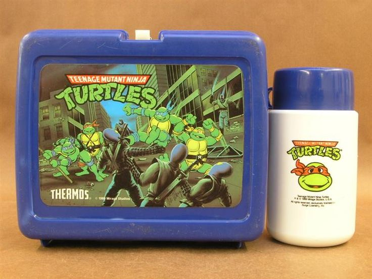 Teenage Mutant Ninja Turtles Lunch Box and Thermos