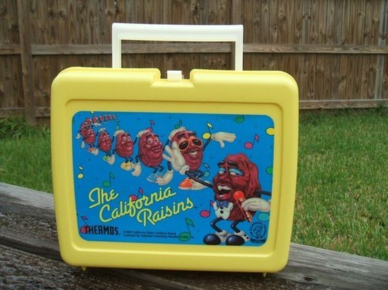 The California Rasins Lunch Box