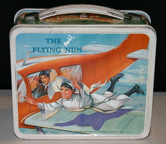 The Flying Nun Lunch Box