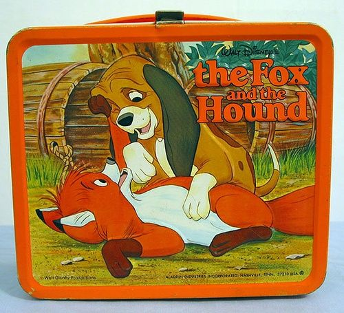The Fox and the Hound Lunch Box