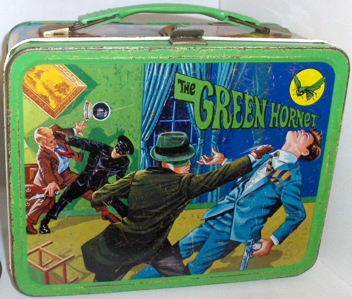 The Green Hornet Lunch Box