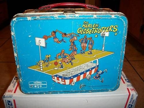 iconic The Harlem Globetrotters Lunch Box