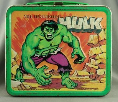The Incredible Hulk Lunch Box
