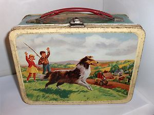 The Magic of Lassie Lunch Box