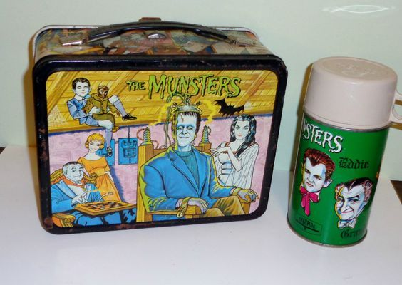 The Munsters Lunch Box and Thermos