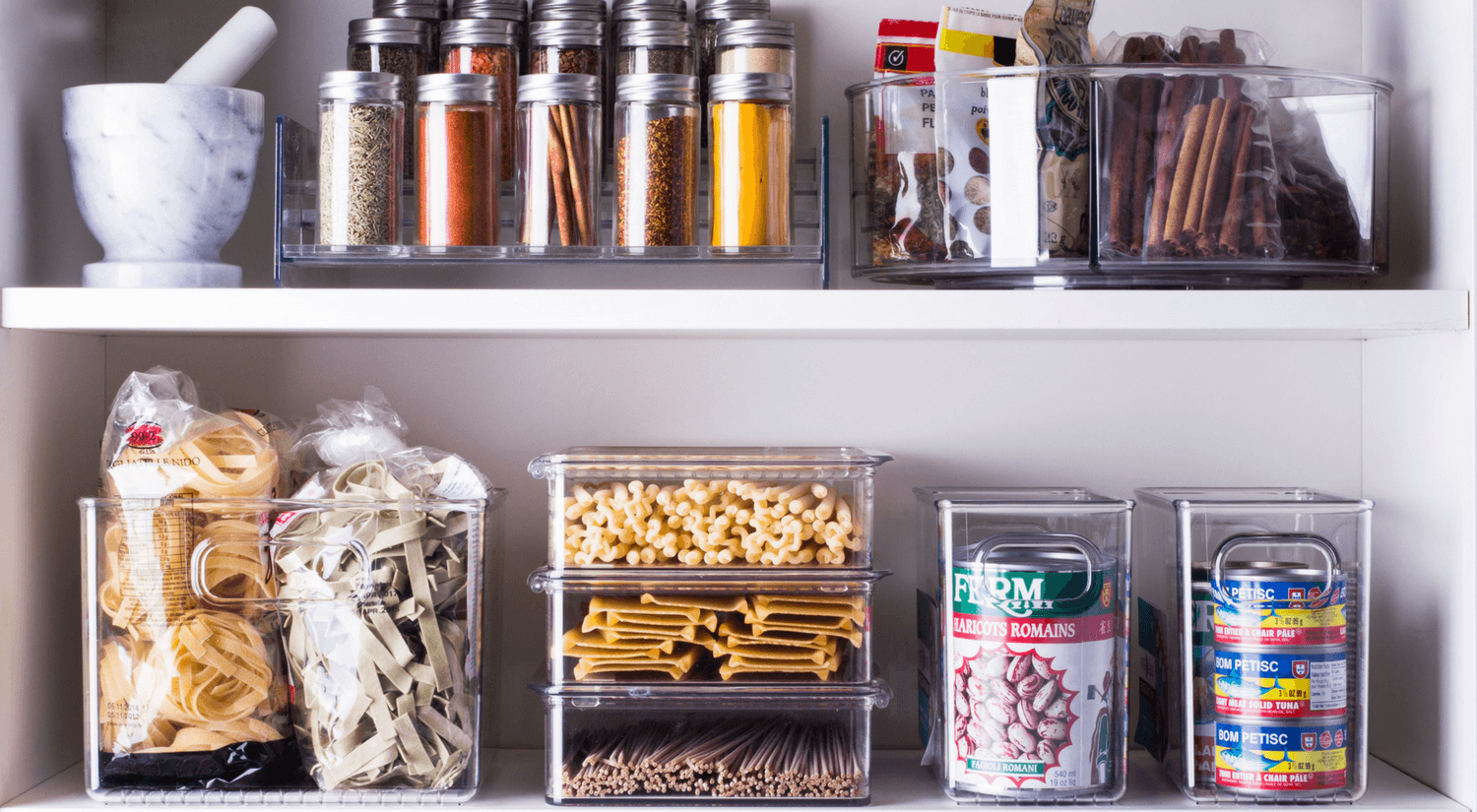 pantry after for kitchen organization