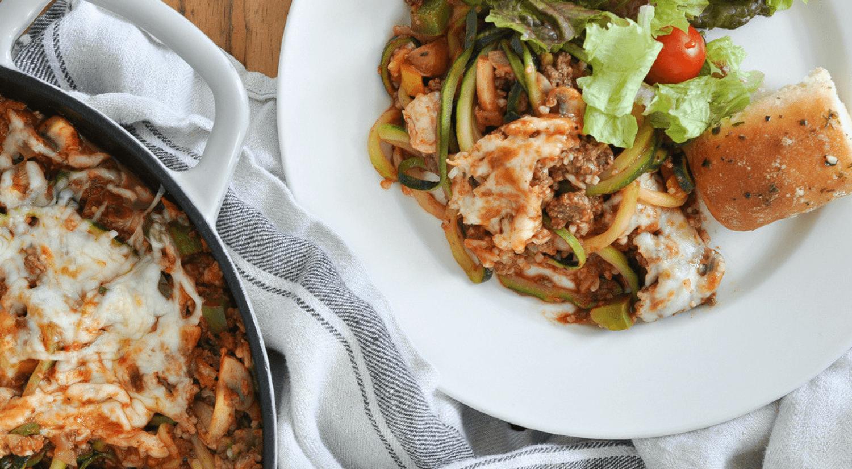 easy zucchini noodle recipe