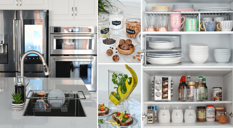 benefits organized kitchen