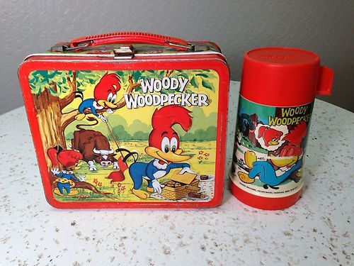 Woody Woodpecker Lunch Box and Thermos