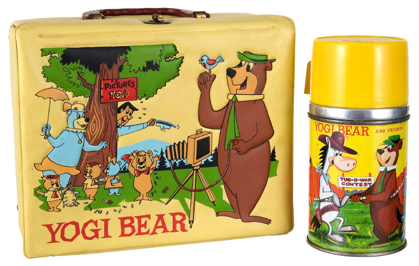 Yogi Bear Lunch Box and Thermos