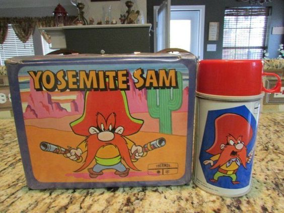 Yosemite Sam Lunch Box