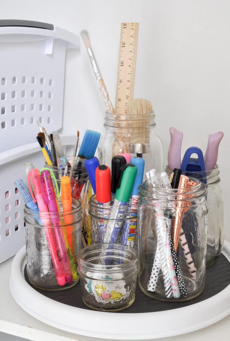 craft cupboard homework station