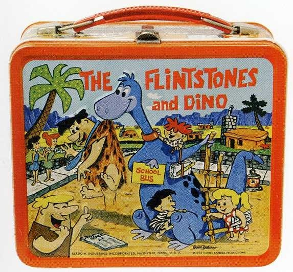 iconic flintstones-retro-lunch-box