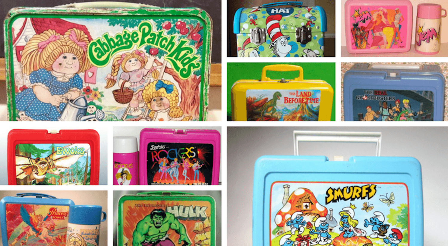 iconic retro lunch boxes cover