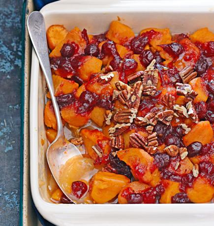 cranberry apple sweet potato side